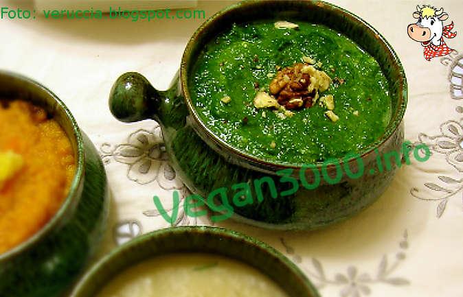 Foto numero 1 della ricetta Creamed spinach with walnuts
