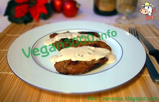 Foto numero 1 della ricetta Seitan al pepe verde