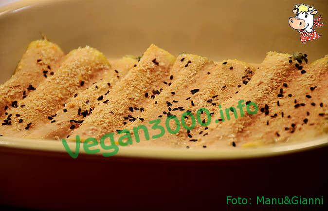 Foto numero 1 della ricetta Cannelloni con patate, cicoria e olive
