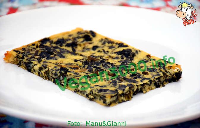 Foto numero 1 della ricetta Farinata incavolata nera