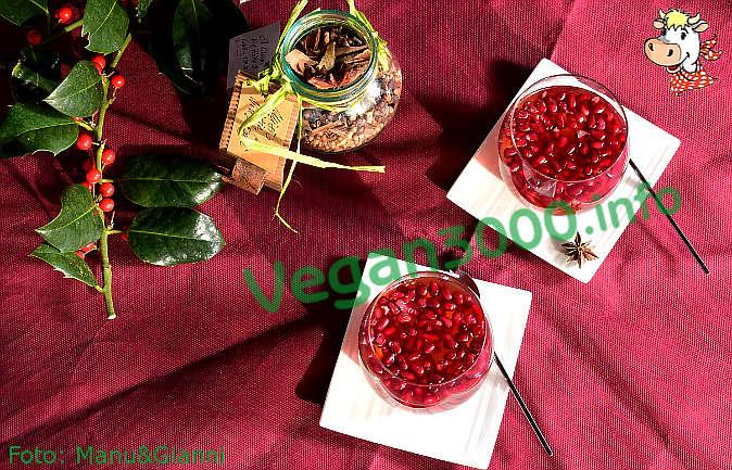 Foto numero 3 della ricetta Kanten di melagrana (budino di melagrana)