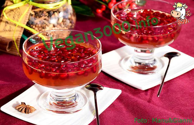 Foto numero 5 della ricetta Kanten di melagrana (budino di melagrana)