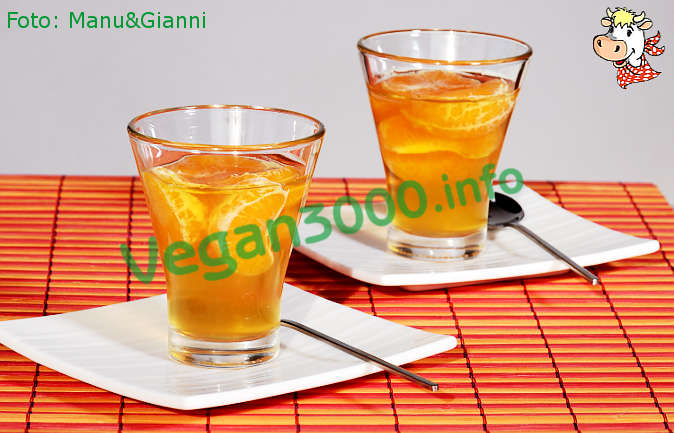 Foto numero 1 della ricetta Kanten di clementine (budino di clementine)