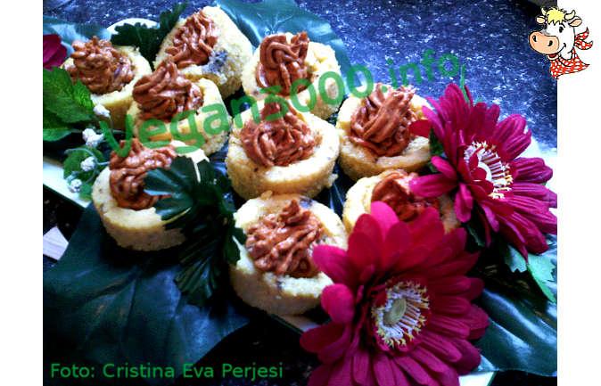 Foto numero 1 della ricetta Vol au vent di polenta con ripieno goloso