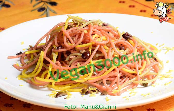 Foto numero 1 della ricetta Spaghetti salad perfumed with lemon