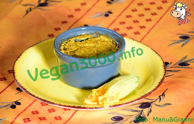 Foto numero 1 della ricetta Curry vegan flan with zucchini