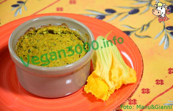 Foto numero 2 della ricetta Flan vegan di zucchine al curry
