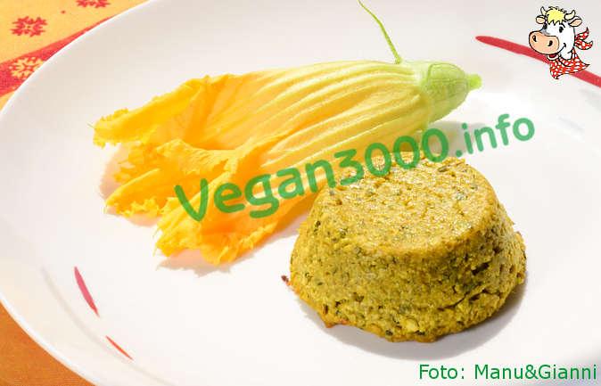 Foto numero 4 della ricetta Flan vegan di zucchine al curry