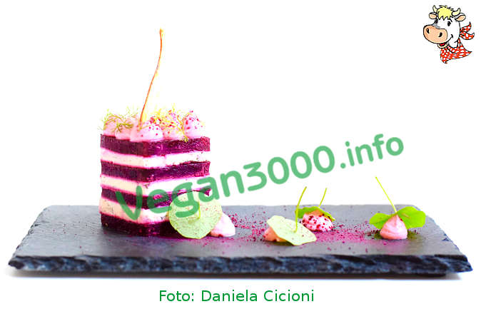 Foto numero 1 della ricetta Tower of beet and Cicioni with mayonnaise