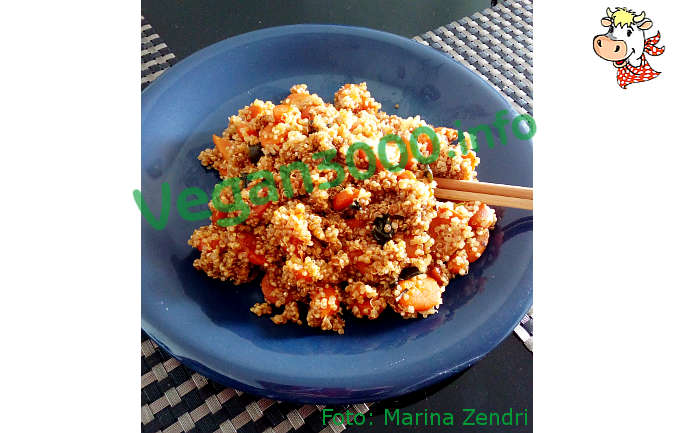 Foto numero 1 della ricetta Quinoa with carrots