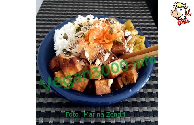 Foto numero 1 della ricetta Vegan poke bowl