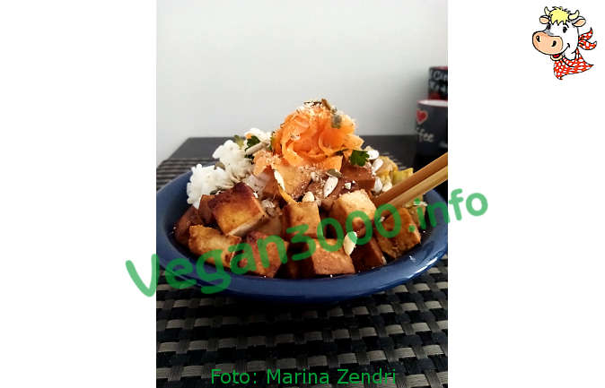 Foto numero 3 della ricetta Vegan poke bowl