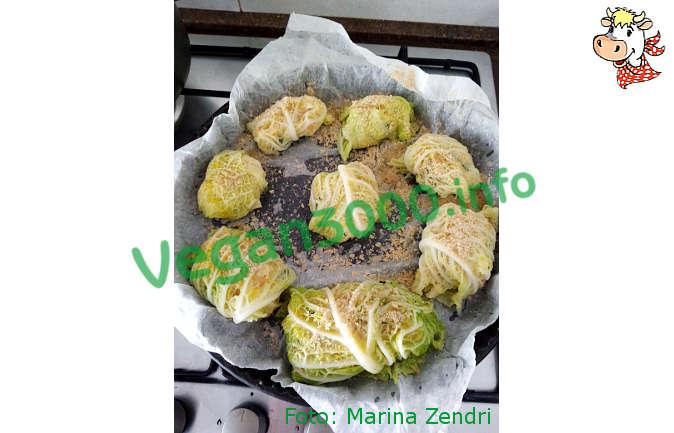 Foto numero 2 della ricetta Involtini di verza e ceci
