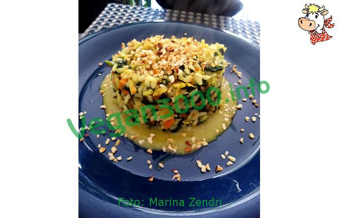 Foto numero 1 della ricetta Risotto spinaci e nocciole