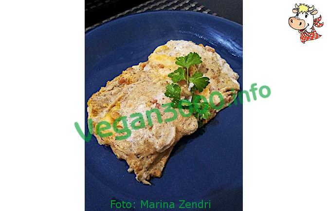 Foto numero 1 della ricetta Lasagne di pane carasau con zucca e lenticchie