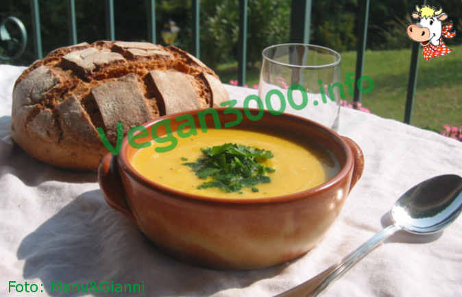 Foto numero 1 della ricetta Crema di zucca (1)