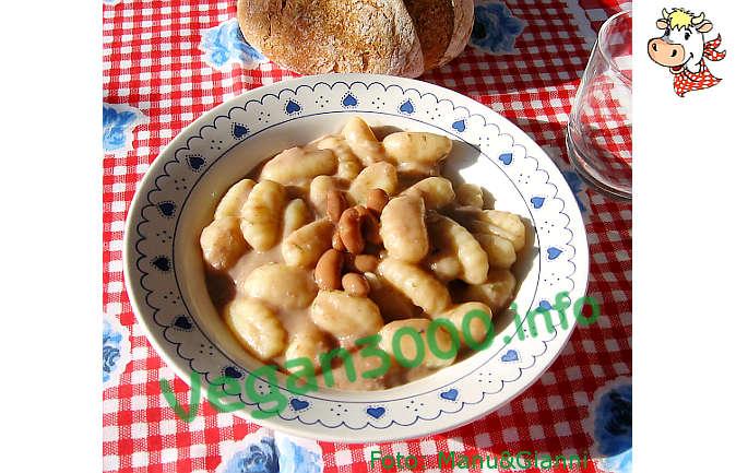 Foto numero 1 della ricetta Gnocchi con sughetto di fagioli borlotti