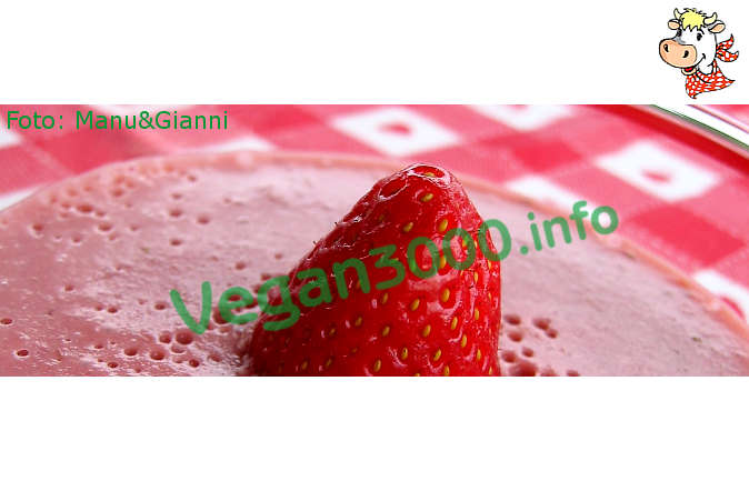 Foto numero 1 della ricetta Kanten of strawberries (strawberry pudding)