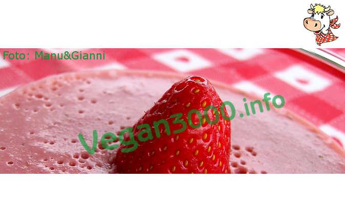 Foto numero 1 della ricetta Kanten di fragole (budino di fragole)