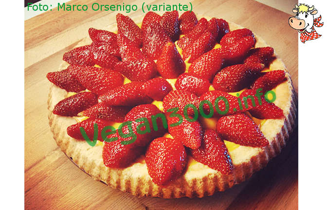 Foto numero 1 della ricetta Strawberry tart in vegetable gelatine