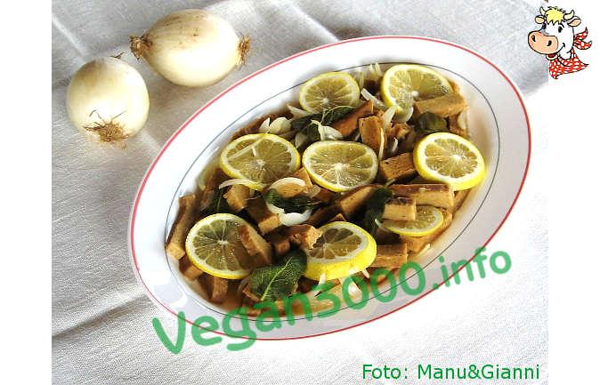 Foto numero 1 della ricetta Seitan in carpione