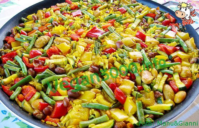 Foto numero 2 della ricetta Paella valenciana... vegetale