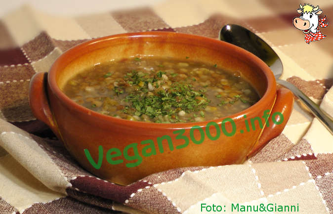 Foto numero 1 della ricetta Lentil soup with lemon