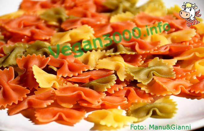 Foto numero 1 della ricetta Colorful butterfly pasta
