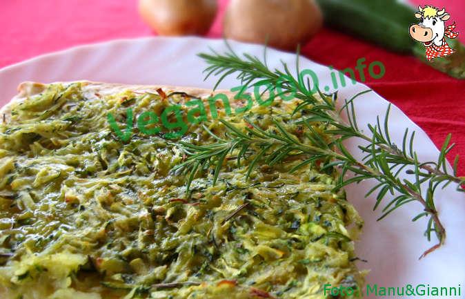 Foto numero 1 della ricetta Pizza patate e zucchine