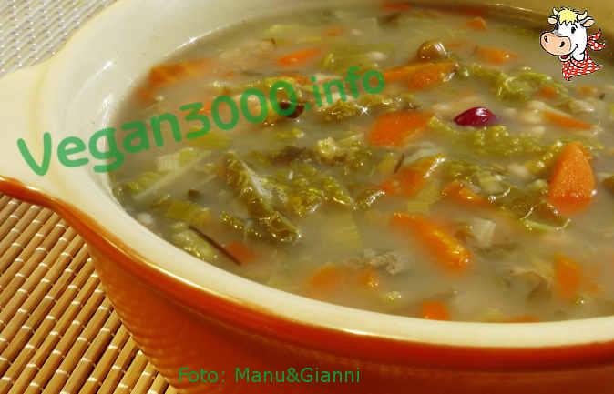 Foto numero 1 della ricetta Zuppa di pasta di farro e legumi