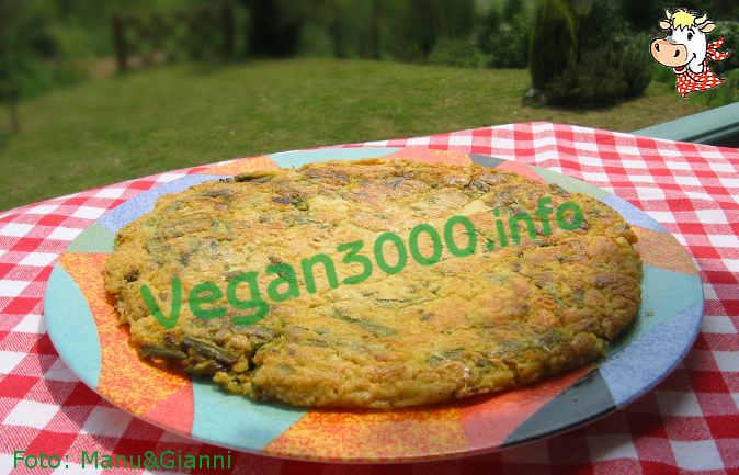 Foto numero 1 della ricetta Farinata di zucchine (o frittata di zucchine)