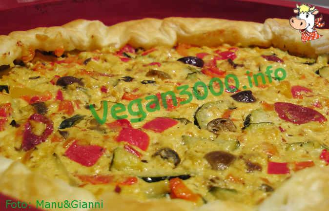 Foto numero 1 della ricetta Vegetable quiche