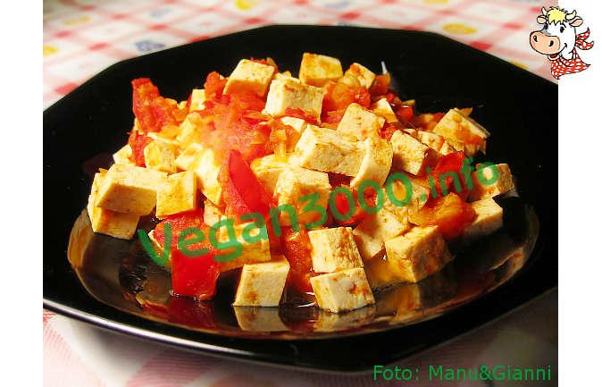 Foto numero 1 della ricetta Dadolata di tofu al curry
