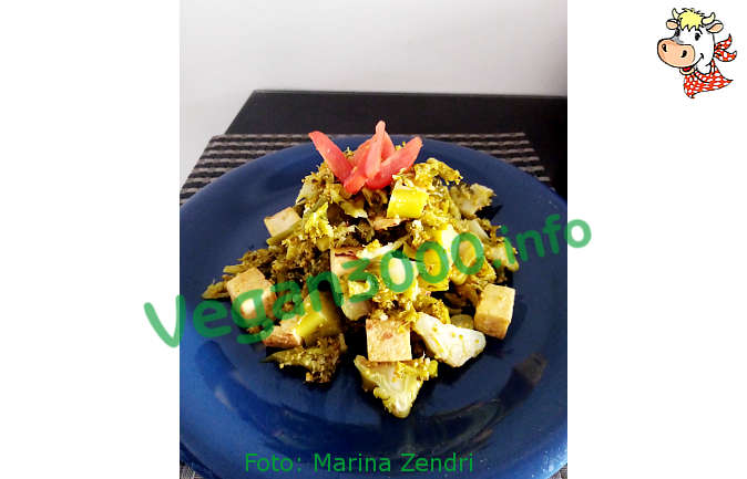 Foto numero 1 della ricetta Broccoli salad with tofu