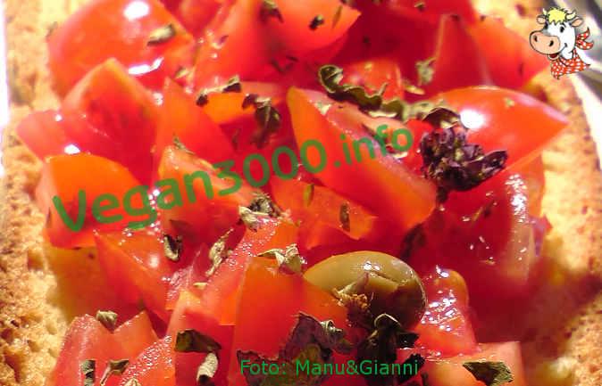 Foto numero 1 della ricetta Bruschette al pomodoro