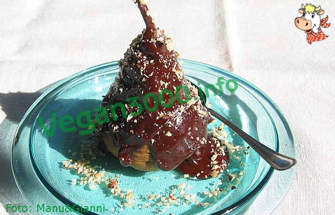 Foto numero 1 della ricetta Pere al cioccolato