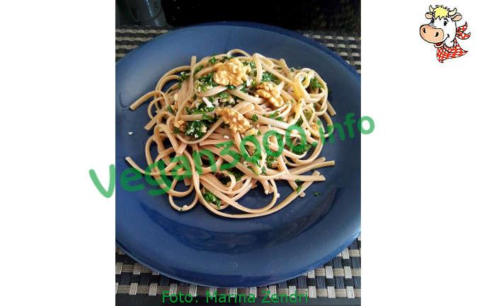 Foto numero 1 della ricetta Linguine alle noci e rucola
