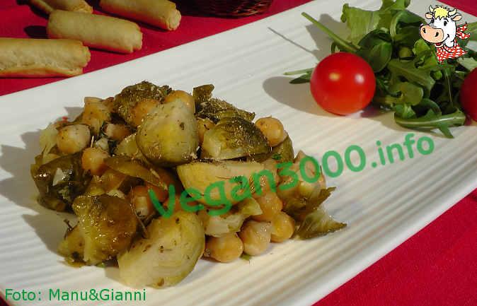 Foto numero 1 della ricetta Cavoletti e ceci