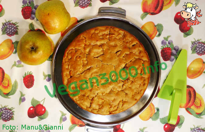 Foto numero 1 della ricetta Torta di mele di zia Leondina