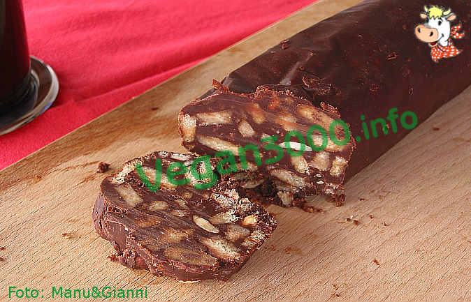 Foto numero 1 della ricetta Salame di cioccolato
