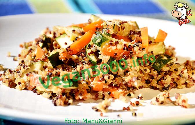 Foto numero 1 della ricetta Sformato di quinoa alle verdure di stagione